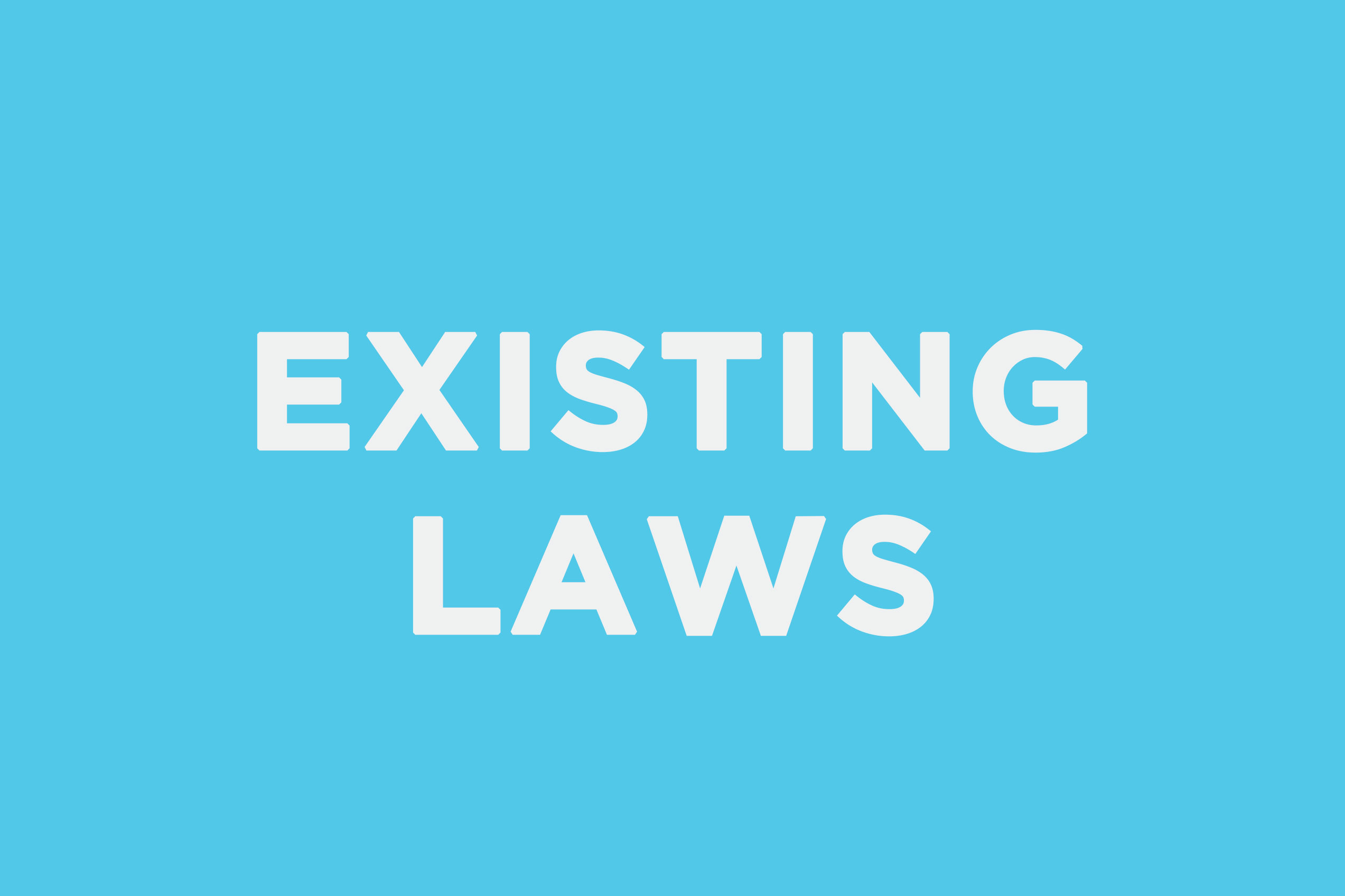 existinglaws